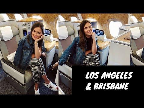 FIRST VISIT TO LA AND BRISBANE | Emirates Cabin Crew