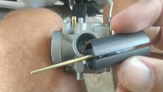 Yamaha Factor com Carburador de YBR - Vazamento de Gasolina Resolvido
