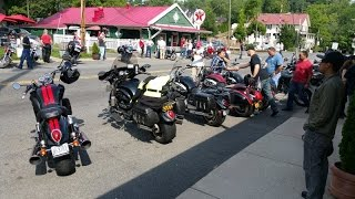 Group ride from Motorcycles of Dulles to