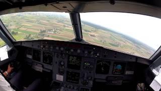 Lublin EPLB, Cockpit view landing 25