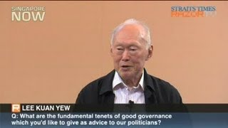 How will Lee Kuan Yew govern India?
