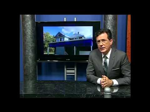 Colbert interviews Eminem on Public Access