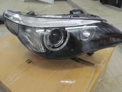 Фара правая передняя до рестайлинг Бмв Е60 63127165568 Передняя правая биксенон Фара BMW 5 E60