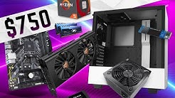 The Best $750 Gaming PC Build