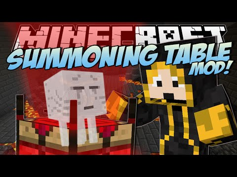 Minecraft | SUMMONING TABLE MOD! (Lord of the Mobs!) | Mod Showcase
