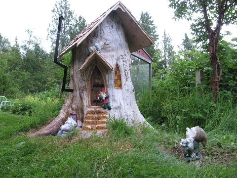 Gnome stump home - YouTube on love house plans, fairy house plans, gnome house plans, spirit house plans, fish house plans, giant house plans, vampire house plans, house house plans, elvish house plans, toy story house plans, twilight house plans, horse house plans, tucker house plans, bear house plans, toad house plans, elf house plans, zombie house plans, angel house plans, pirate house plans, fox house plans,