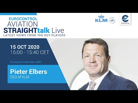 Aviation StraightTalk Live with KLM CEO, Pieter Elbers