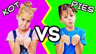 KOT VS PIES || Śmieszne Zachowania Zwierząt