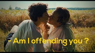 Скачать Call Me By Your Name First Kiss Scene Timothee Chalamet And Armie Hammer