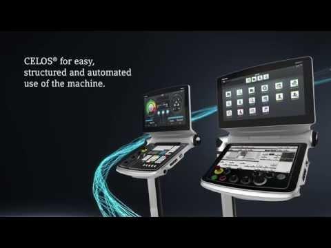 CELOS® - Simplified machine operation  Integration of machine