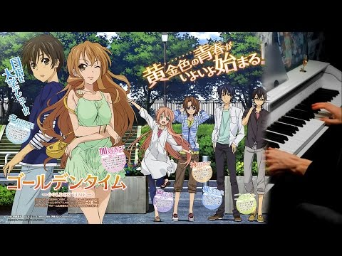 Golden Time OST-Konna ni mo Kowareyasuku 【Rolelush】【piano】 + music sheets