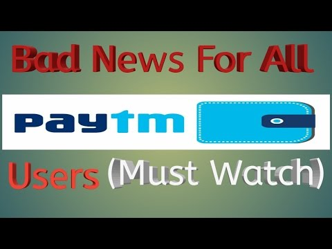 Bad News For All Paytm Users Now no More Paytm Promo codes( Must Watch)