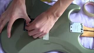 Tremol-No Pin-type Installation (Fender American Standard Stratocaster)