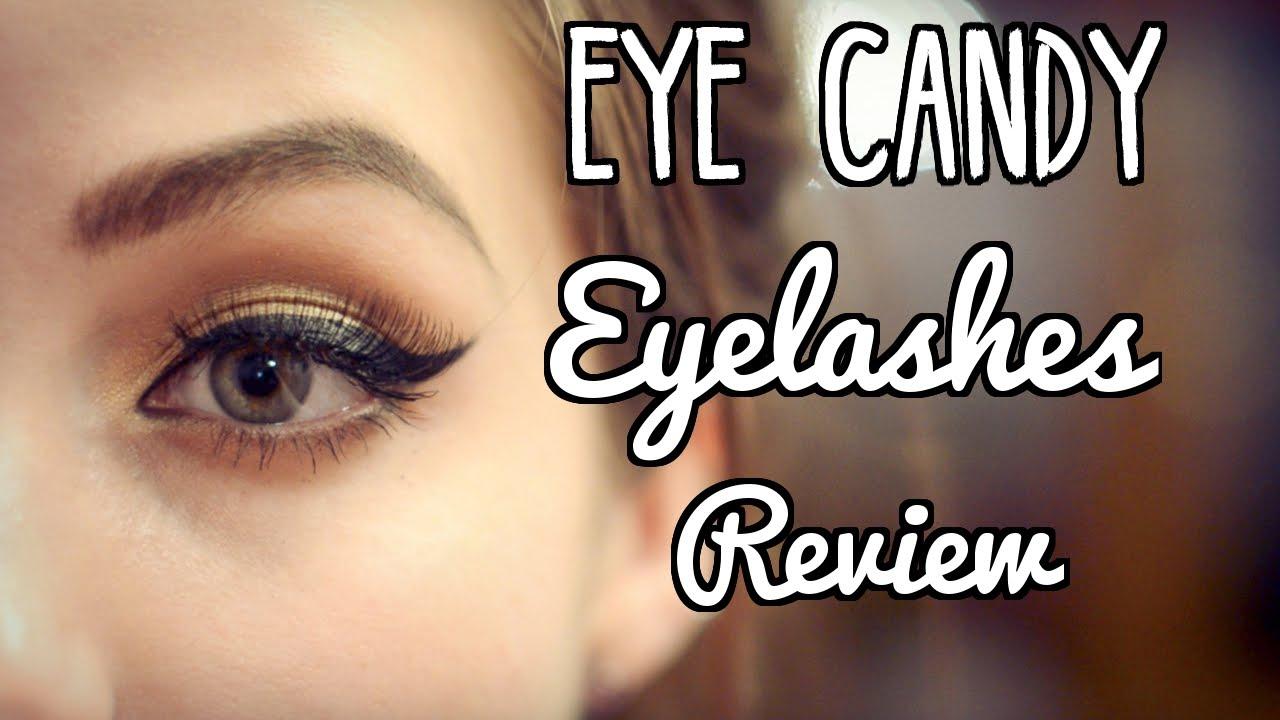 d6af5bb122b EyeCandy False Eyelashes Review - YouTube