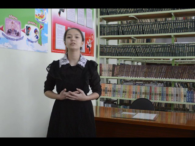 Изображение предпросмотра прочтения – АлександраКарпеева читает произведение «О, как убийственно мылюбим…» Ф.И.Тютчева