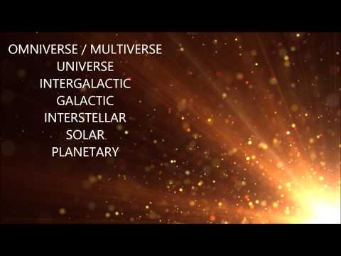 Creations to manifestation ~ The parcours of energy from Source to Planetary level