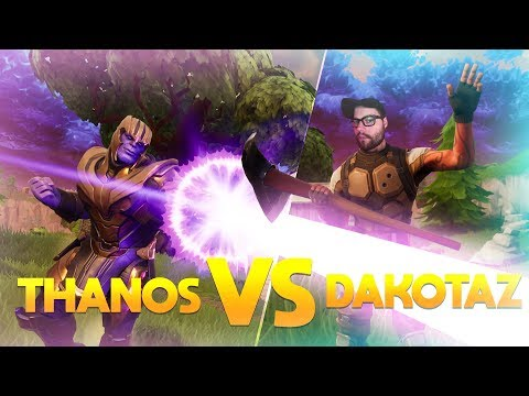 Avxry (Thanos) V.S. Dakotaz - Fortnite Battle Royale Infinity Gauntlet