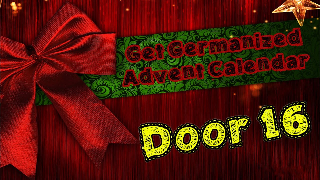 Door #16 | Get Germanized Advent Calendar - 24 Days Of Free German Chocolate - Get Germanized & Door #16 | Get Germanized Advent Calendar - 24 Days Of Free German ... pezcame.com