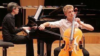 POPPER Polonaise de concert op. 14 - Fabian STURM, 1er prix de violoncelle 17-19 ans FLAME