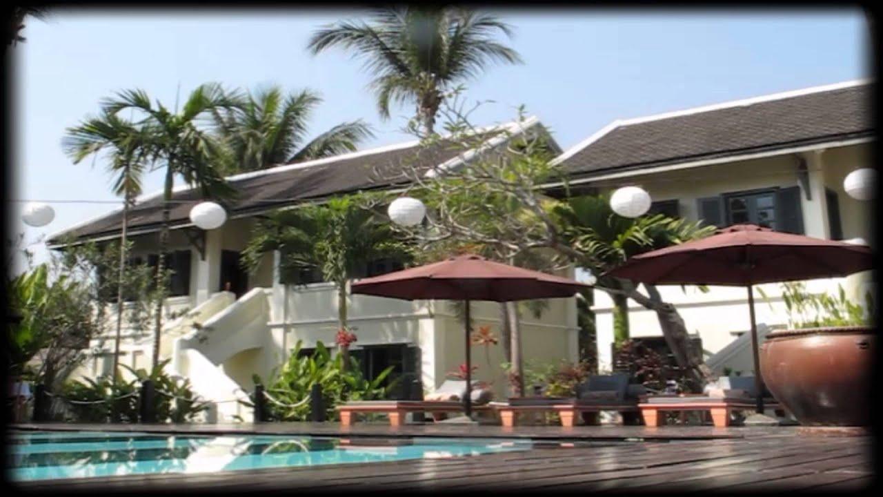 Luang prabang hotel villa maly youtube for Luang prabang hotels 5 star