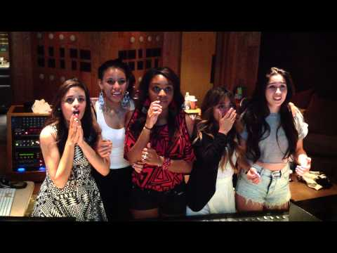 "Fifth Harmony Reacts To Hearing ""Miss Movin' On"" On The Radio"