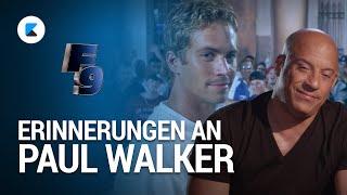 Fast and Furious 9: Erinnerungen an Paul Walker (Vin Diesel, Jordana Brewster)