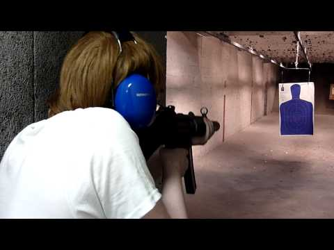 Shooting the HK MP5-SD and HK USP.45