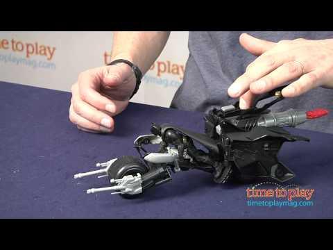 The Dark Knight Rises QuickTek Attack Armor Bat-Pod from Mattel