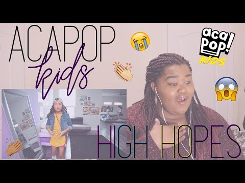 Episode 66: Reacting To - Acapop! KIDS - HIGH HOPES by Panic! At The Disco (Official Music Video)