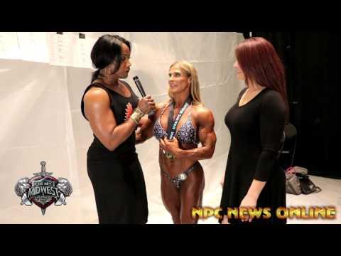 2017 IFBB Omaha Pro Women's Bodybuilding Winner Maria Mikola