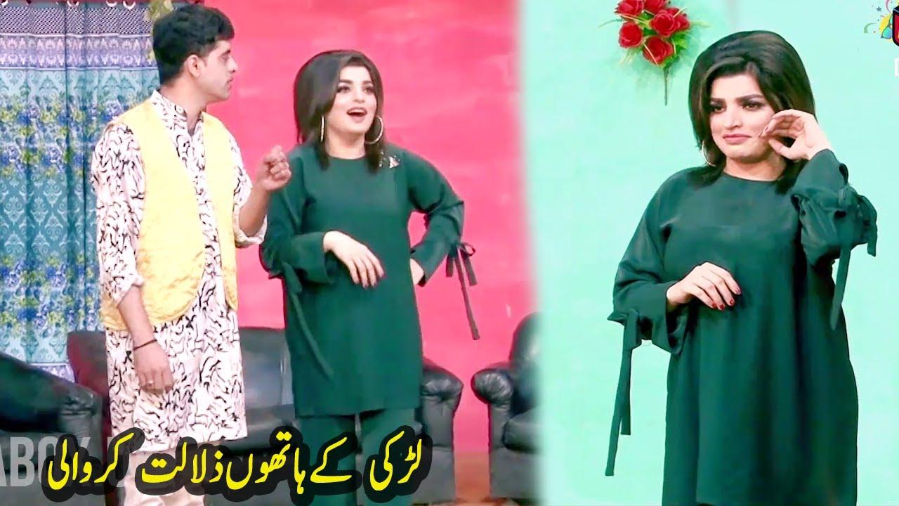 Gughat Muqabla l Stage Drama Hasse Wandi De 2020 l Sajjan Abbas l Full Comedy Clip 2020