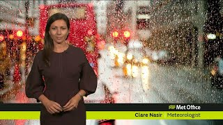 Thursday afternoon forecast 20/09/18