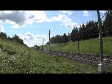 ЭТ2М-100 №6508 Москва-Пассажирская (Ленинградский вокзал) — Клин