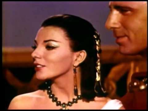 Joan Collins - CLEOPATRA Screen Test