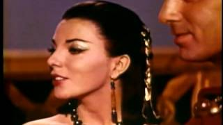 Joan Collins - CLEOPATRA Screen Test