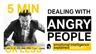 The BEST way to handle an ANGRY person with emotional intelligence