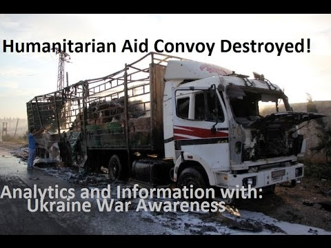 Syrian Humanitarian Aid Attack Analysis and Information Comparison