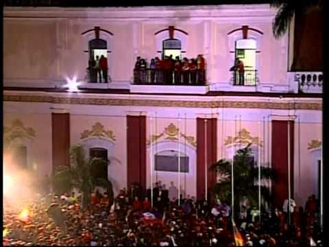 Discurso completo del Presidente Hugo Chávez tras la victoria este 7 de Octubre de 2012