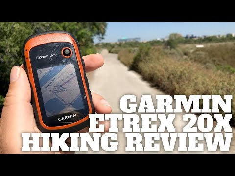 Garmin eTrex 20x Hiking GPS Review