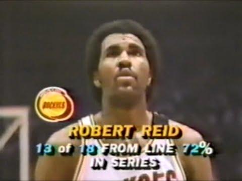 Robert Reid (27pts) vs. Celtics (1981 Finals) (Game 6)
