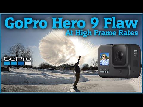 GOPRO HERO 9 CAMERA FLAW - At Higher Frame Rates - Firmware 1.5.0 & GoPro Labs Beta