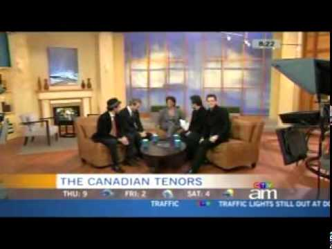 Canadian Tenors Interview + Oh Holy Night