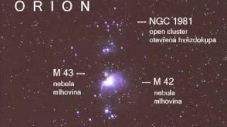 Astronomy - Orion Time Lapse - V pohybu, 26.9.2009, 43s
