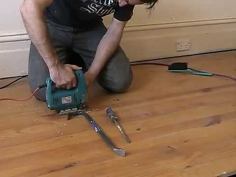 Remove Tongue And Groove Floorboards With Minimal Damage Youtube