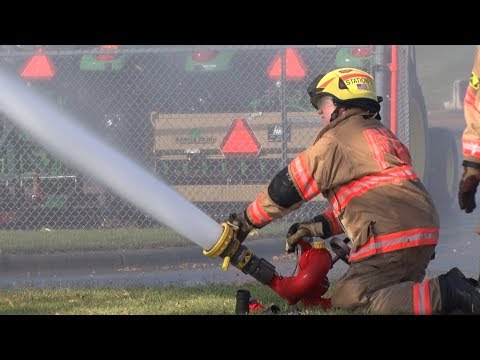 AVFD Water Spraying Training