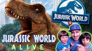 JURASSIC WORLD ALIVE 🦖 DINOSAURIOS EN LA CIUDAD 🦕  juegos android y aplicaciones para niños