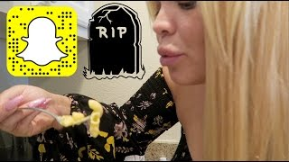 SNAPCHAT KILLED MY VLOGGING CHANNEL | RIP THIS CHANNEL