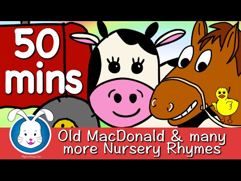 Old MacDonald Had A Farm & More Nursery Rhymes with lyrics
