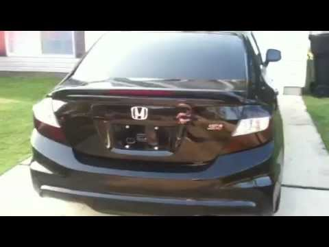 9th Gen 2012 Civic Si Blacked Out Youtube
