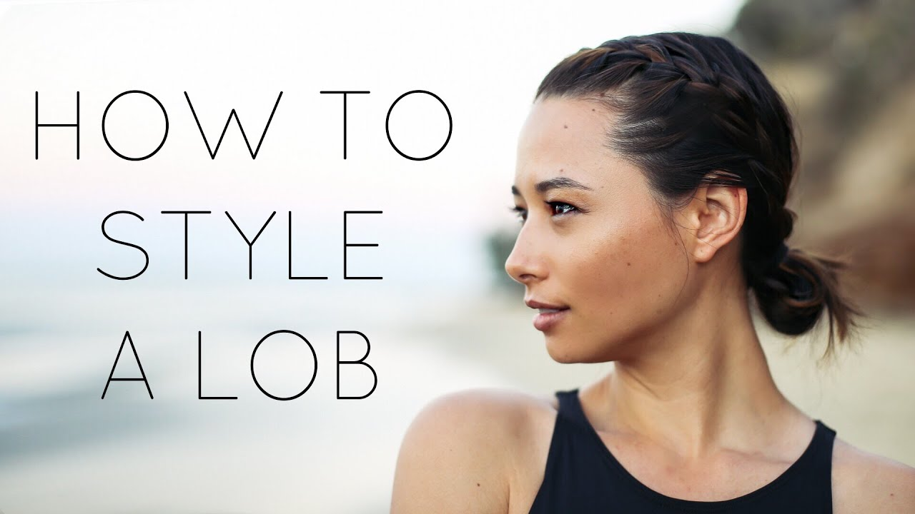 how to style lob hair 6 easy ways to style medium length hair lob 7002